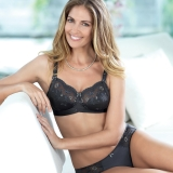 5723X Ella Wire-free Embroidered Mastectomy Bra